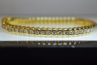 18ct Gold Diamond Bracelet